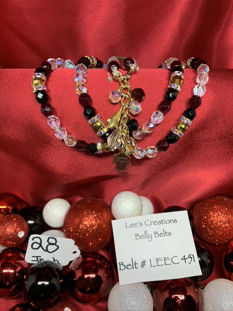 Egyptian Jewels Christmas Collection - Belt # 451 LEEC (28.0in)